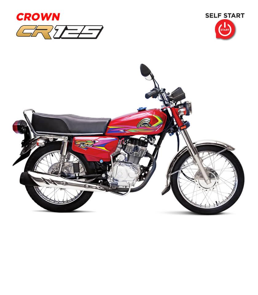 Crown CR-125 motorcycle self start