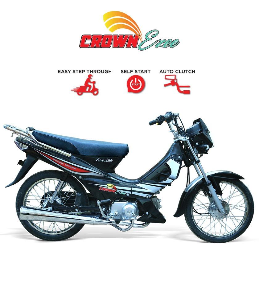 Crown Ezee self start motorcycle